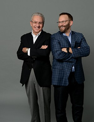 Larry and Nathan Stelter